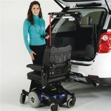 Bruno Curb-Sider Vehicle Lift Telescoping Model