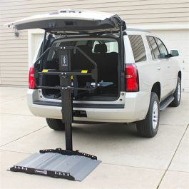 Bruno Joey VSL4000 Vehicle Lift by Marc's Mobility - YouTube