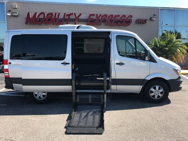 fd497585c5 2015 Mercedes-Benz Sprinter 2500 wheelchair Van At Mobility Express