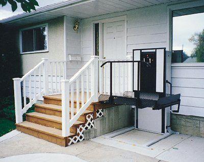 Trust-T-Lift Residential Vertical Platform Lift on