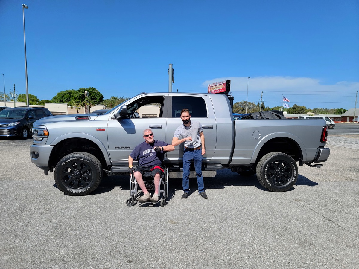 Wheelchair Accessible Pickup Trucks by Ryno Mobility