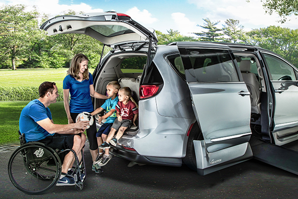 Introducing the New Chrysler Pacifica Accessible Conversion Vehicles