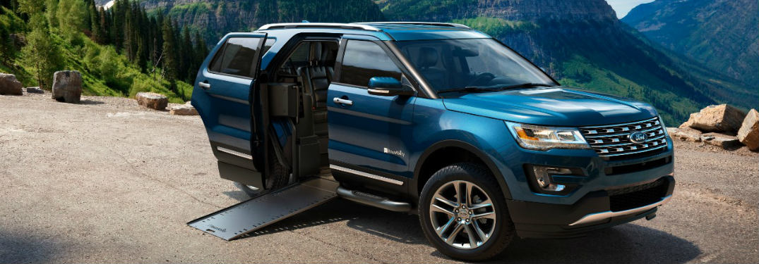 The Ford Explorer MXV by BraunAbility - Short Lived, Much Loved