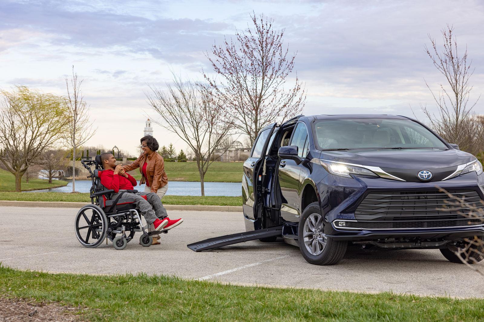 The New Toyota Sienna Hybrid Wheelchair Van by BraunAbility