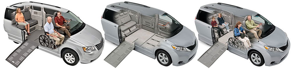 wheelchair accessible vans buyers guide seating areas image