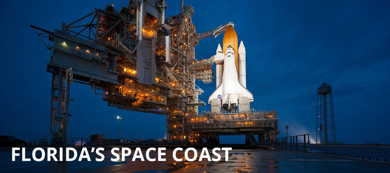 Cape Canaveral Shuttle Reads Florida's Space Coast wheelchair accessible tourism attraction
