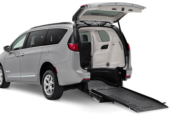 Chrysler Pacifica Wheelchair Van with Rear Entry