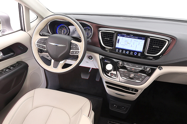 Chrysler Pacifica Wheelchair Van Dash