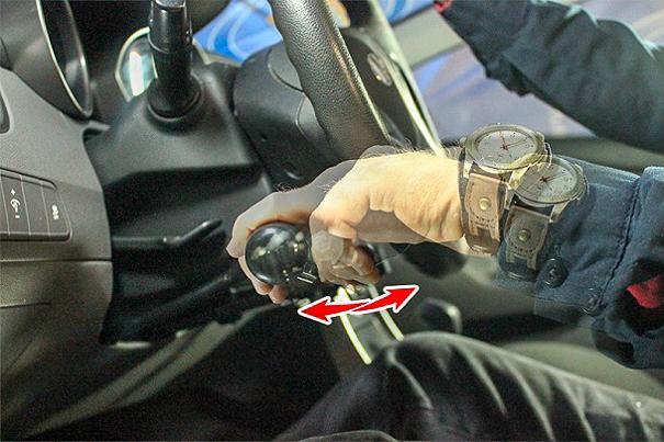 Push/Pull Hand Controls