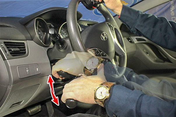 Push/Right Angle Hand Controls