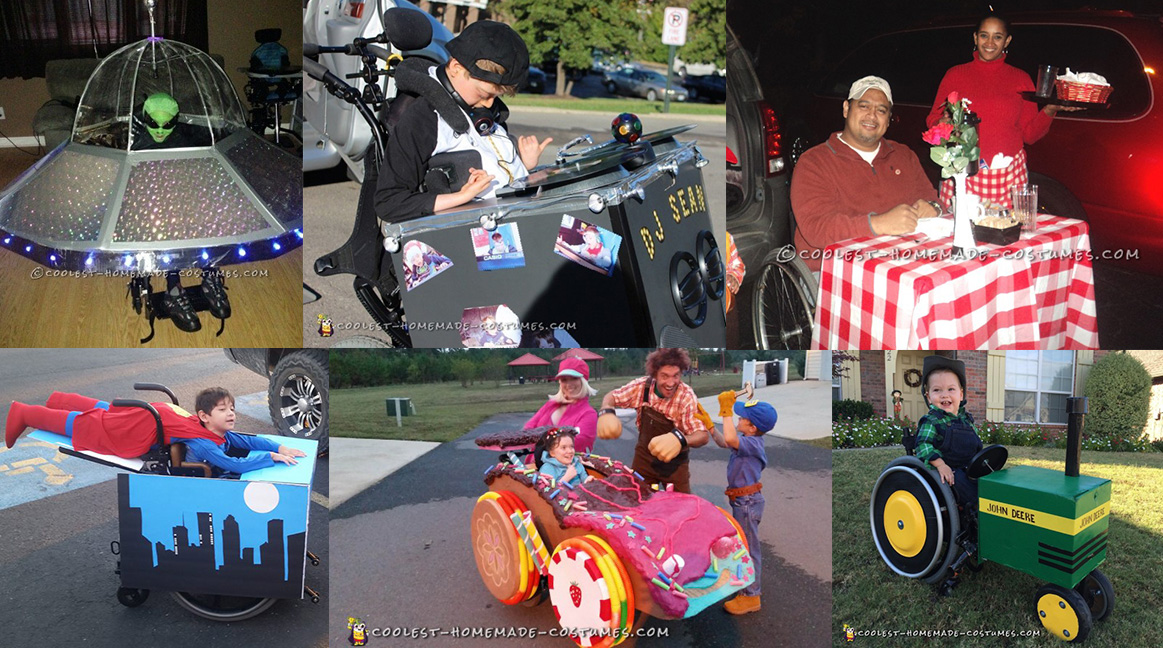 halloween costumes for wheelchairs