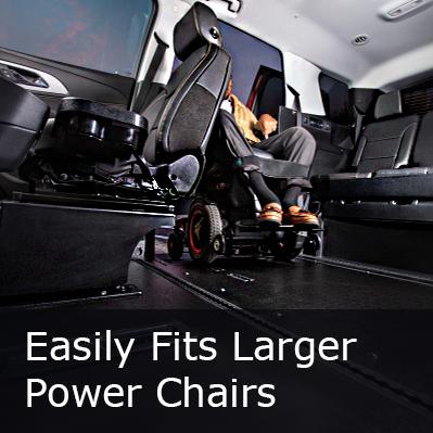 BraunAbility Chevy Traverse Interior